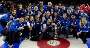 Las Vegas Nevada, Jan17, 2016.World Financial Group Continental Cup of Curling 2016.Team North America capture the Continental Cup 30.5 to 29.5 over Team World. michael burns photo