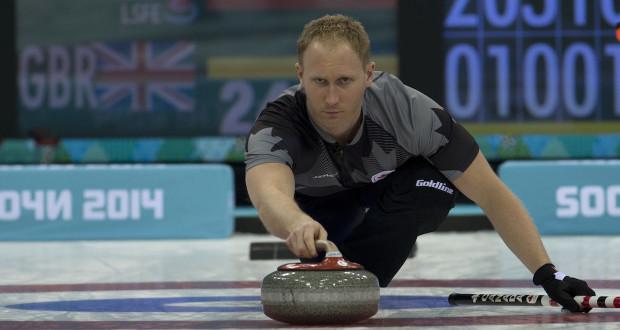 Sochi Ru.Feb22-2014.Winter Olympic Games.Men's Gold Medal.Team Canada,skip Brad Jacobs.WCF/michael burns photo