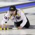 Feb 9/13 - Fort McMurray, AB - M&M Meat Shops Junior Curling Championships - Men's Final - Manitoba skip, Matt Dunstone - CCA/Michael Burns Photography/Mark O'Neill Photo