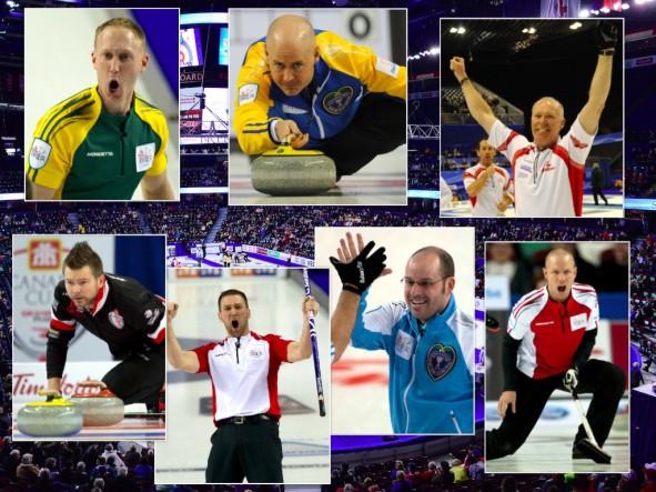 Les plus grands noms de curling seront à 2016 Brier Tim Hortons à Ottawa. (Photos, Curling Canada / Michael Burns)