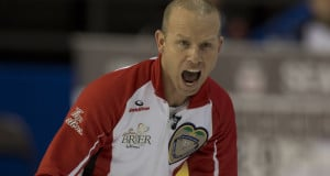 Ottawa Ont.Mar 6, 2016.Tim Hortons Brier.Team Canada skip Pat Simmons. Curling Canada/ michael burns photo