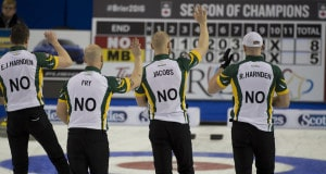 Ottawa Ont.Mar 10, 2016.Tim Hortons Brier.Northern Ontario,Curling Canada/ michael burns photo