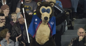 Ottawa Ont.Mar 6, 2016.Tim Hortons Brier.Brier Bear. Curling Canada/ michael burns photo