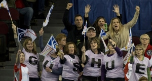 Ottawa Ont.Mar 11, 2016.Tim Hortons Brier.N.L.fans, Curling Canada/ michael burns photo