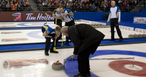 Ottawa Ont.Mar 12, 2016.Tim Hortons Brier.Semi-Final,Alberta, Curling Canada/ michael burns photo