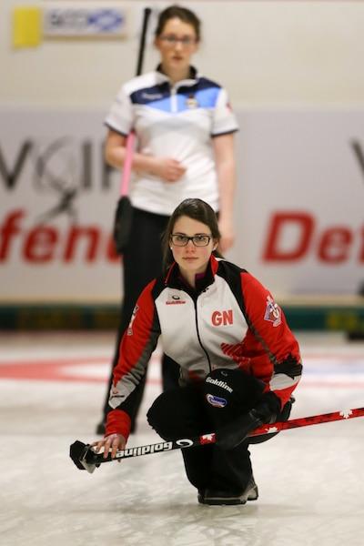 Team Canada skip Mary Fay (WCF/Richard Gray photo)