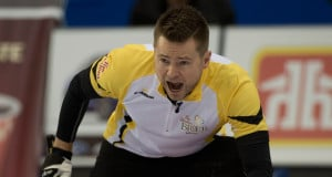 Mike McEwen (Photo, Curling Canada/Michael Burns)