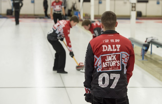 """""""We're really just so thankful that he found this sport,"""" says Kim Daly about her son, Colton (Photo by Kevin Daly)"""