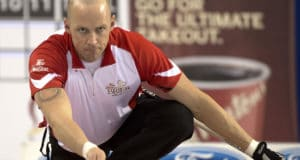 Ottawa, ON 2016 Tim Hortons Brier Team Canada Lead Nolan Thiessen Curling Canada/michael burns photo