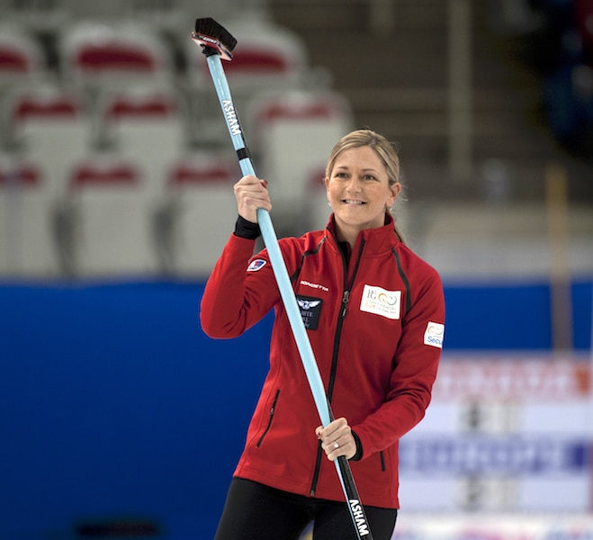 """Lori Olson-Johns: """"Teammates, and working together to achieve that goal, the experience of that is priceless."""" (Curling Canada/Michael Burns photo)"""