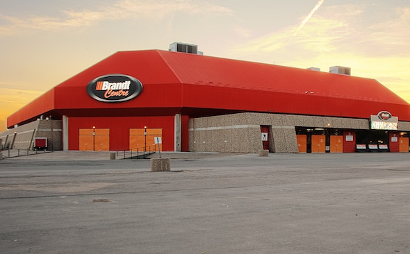 The Brandt Centre at EVRAZ Place will host the 2018 renewal of the Tim Hortons Brier. (Photo, Courtesy Brandt Centre/EVRAZ Place)