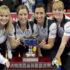 Brandon MB,December 4, 2016.Home Hardware Canada Cup of Curling.Team Jones,skip Jennifer Jones, third Kaitlyn Lawes,second Jill Officer,lead Dawn McEwen. Curling Canada/michael burns photo