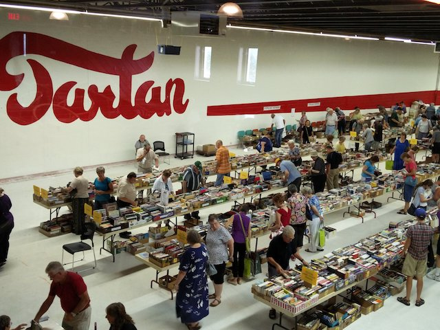 Other events such as book sales and wedding receptions keep people coming through the doors of the Tartan Curling Club (Photo courtesy of Wes Czarnecki/Tartan Curling Club)