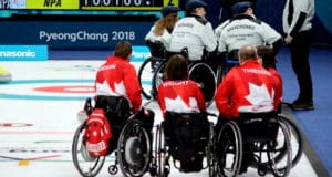 Canada faces Neutral Paralympic Athletes in 2018 Paralympic Games in Pyeongchang - Photo: Brian Chick/Curling Canada