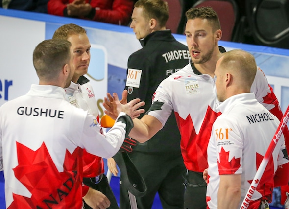 Canada opens World Men's Championship on winning note | Curling Canada