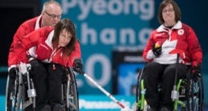 Gangneung Curling Centre. The Paralympic Winter Games, PyeongChang, South Korea, Thursday 8th March 2018. Photo: Joel Marklund for OIS/IOC. Handout image supplied by OIS/IOC