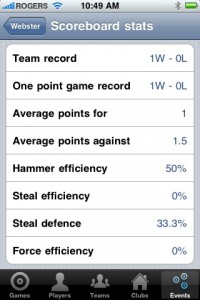 Hey Coach: CurlBook – Your One Handed Curling Stats Application!