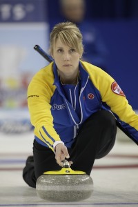 Featured Curling Athlete: Bronwen Webster