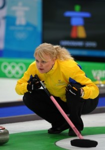 Sweden's Golden Girl on the Way to Langley