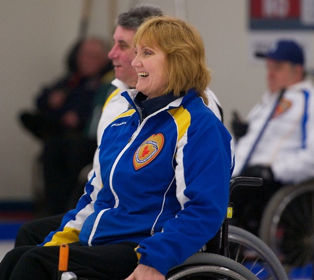 Featured Curling Athlete: Anne Hibberd