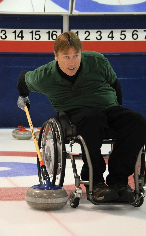 Featured Curling Athlete: Chris Rees