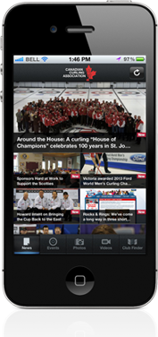 Curling.ca Mobile: Curling's official mobile app is here!