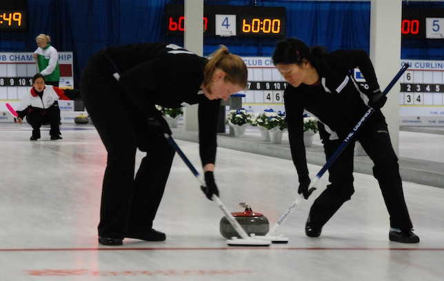 Women's Playoff Scenarios Set at The Dominion Curling Club Championship