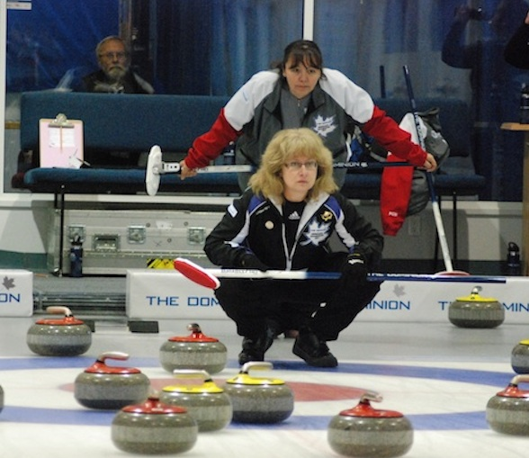 Manitoba and Ontario women lead the way at The Dominion Curling Club Championship