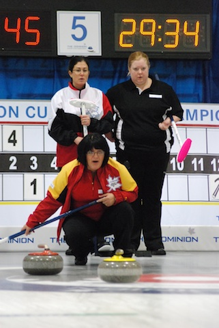 The Dominion Curling Club Championship: Women's play begins with Draw Two