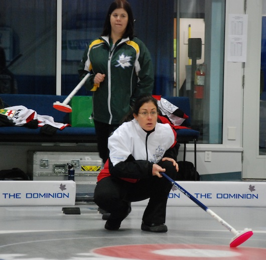 Ontario and Manitoba face off in Women's Final of The Dominion Curling Club Championship
