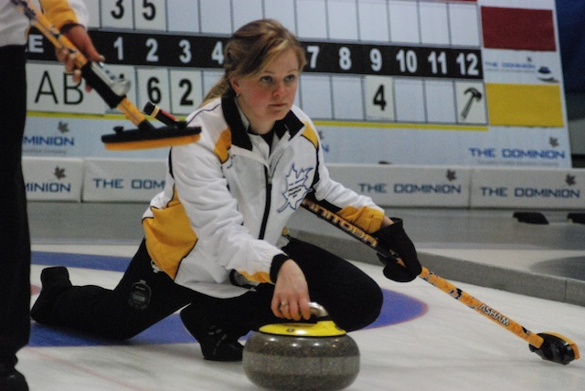 Ontario and Manitoba women still undefeated at The Dominion Curling Club Championship