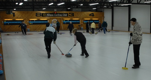 Around the House: An early-season curling club tour