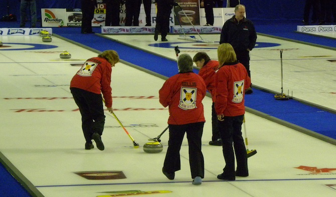 House Call: Visually Impaired Curling