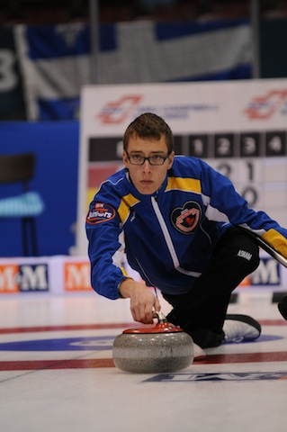Featured Curling Athlete: Brendan Bottcher