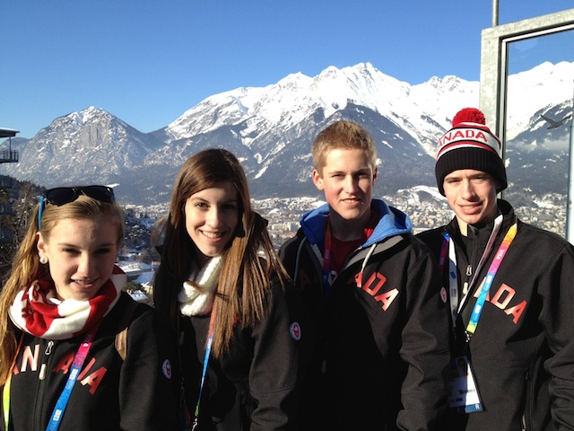 Winter Youth Olympic Games curling action underway in Innsbruck