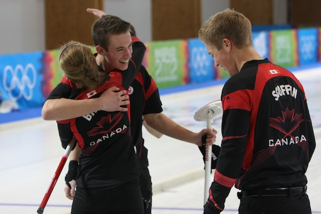 First Winter Youth Olympics medals go to Canadian curlers