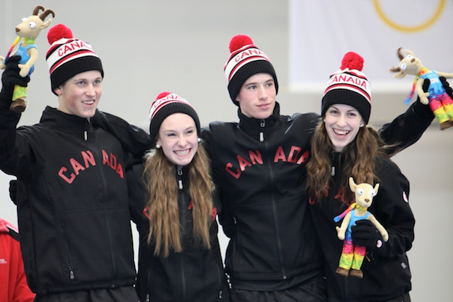 Bronze Medal for Team Canada at Winter Youth Olympic Games