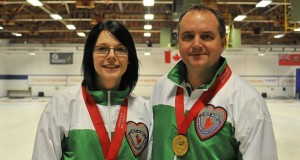 Dean Hicke and Chantelle Eberle are bound for the World Mixed