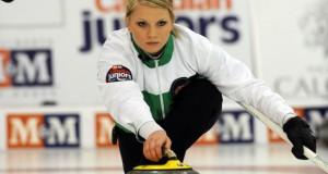 Team Saskatchewan at the Juniors