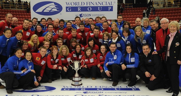 The Continental Cup of Curling: International Curlers Compete for Prizes – and Pride!