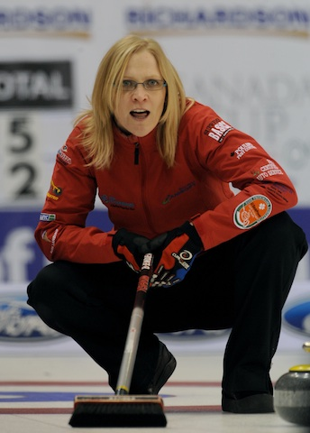 Featured Curling Athlete: Amber Holland