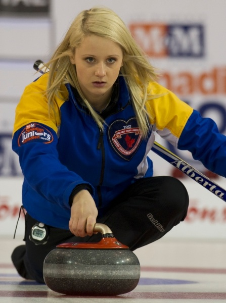 Featured Curling Athlete: Jocelyn Peterman
