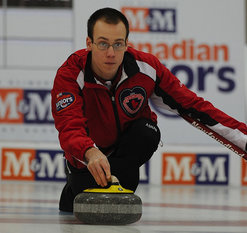 Featured Curling Athlete: Colin Thomas