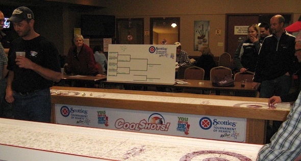 The Final Four Join Club Cool Shots for the Scotties
