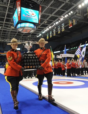 The 2012 Tim Hortons Brier… Now That's Entertainment!