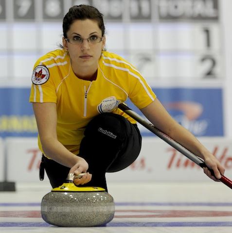 Featured Curling Athlete: Lisa Weagle