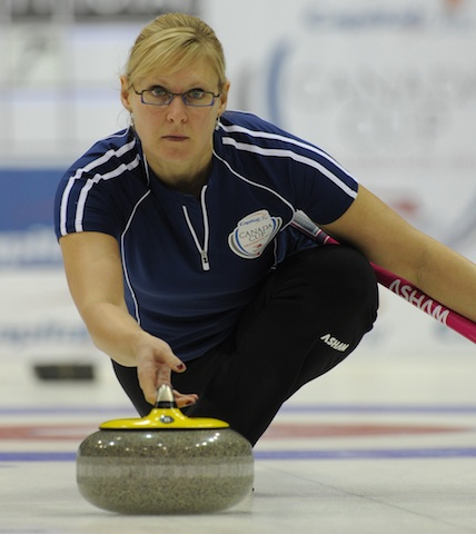 Featured Curling Athlete: Laine Peters