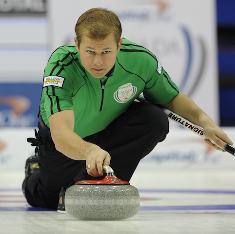 Featured Curling Athlete: Carter Rycroft