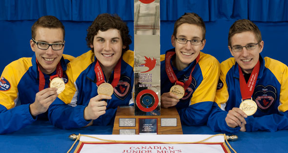 Alberta claims its 16th Canadian Junior Men's title