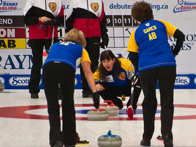To The Playoff Round for Senior Women in Abbotsford